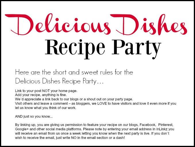 Delicious Dishes Recipe Party rules