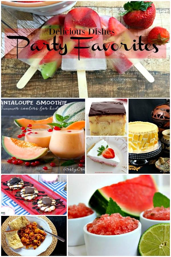 Delicious Dishes Recipe Party #21 Host and Party Favorites - Hundreds of delicious recipes to discover!