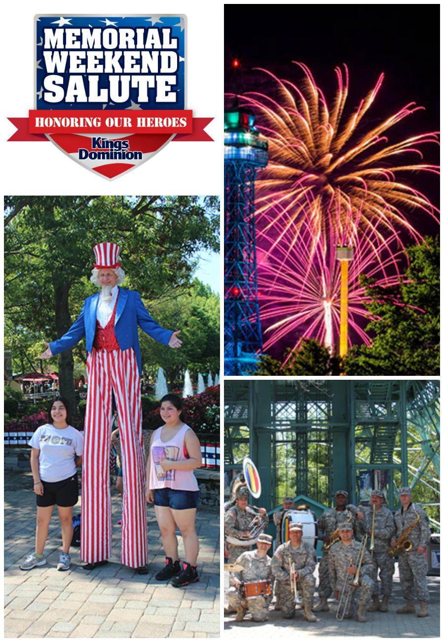 Kings Dominion Memorial Weekend Salute - Honoring Our Heroes