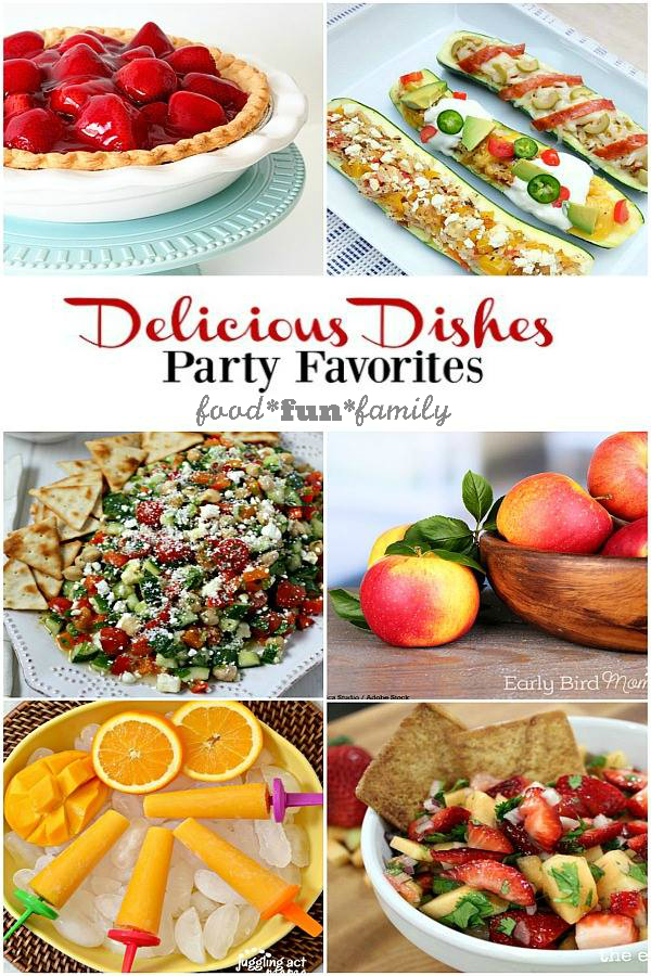 Delicious Dishes Recipe Party #24 - Party Favorites and hundreds more family-friendly, seasonal recipes to discover!