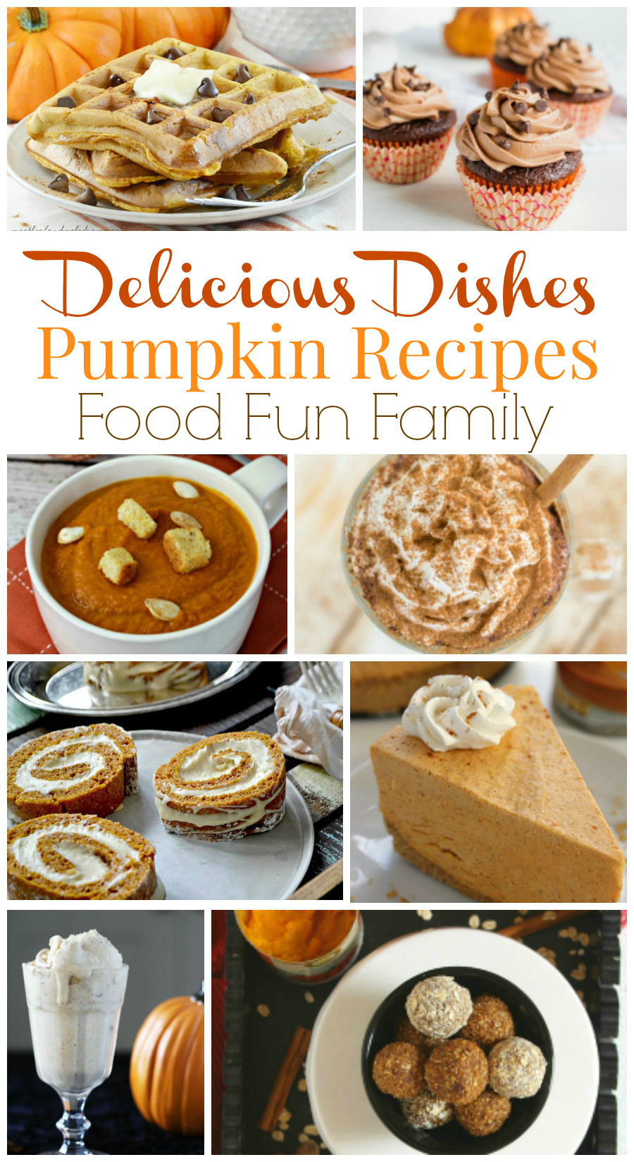 Delicious Dishes Recipe Party - host favorite pumpkin recipes