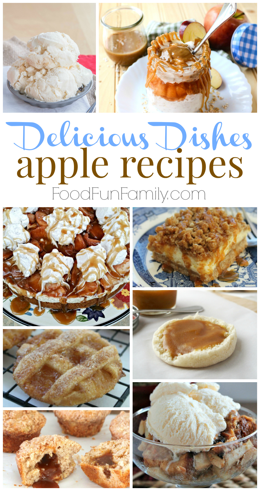 Delicious Dishes Recipe Party #35 - a delicious collection of host-favorite apple recipes that are perfect for the early fall!