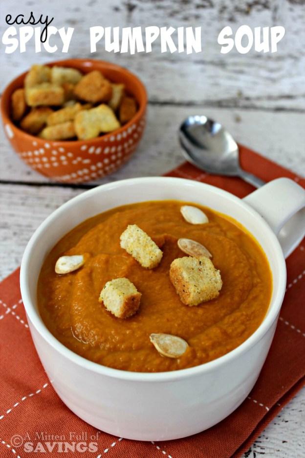 Keri Lyn loved Easy Spicy Pumpkin Soup from A Worthey Read