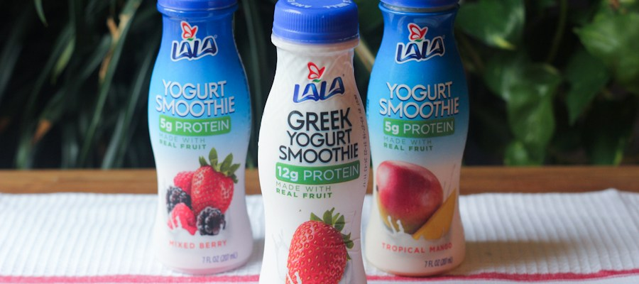 LALA Yogurt Smoothies: For Your On-The-Go Lifestyle