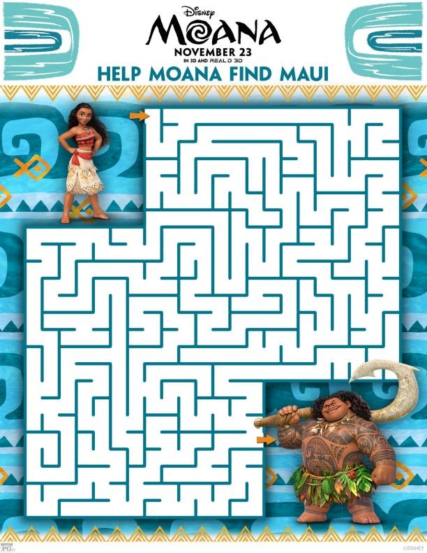 Moana Maze