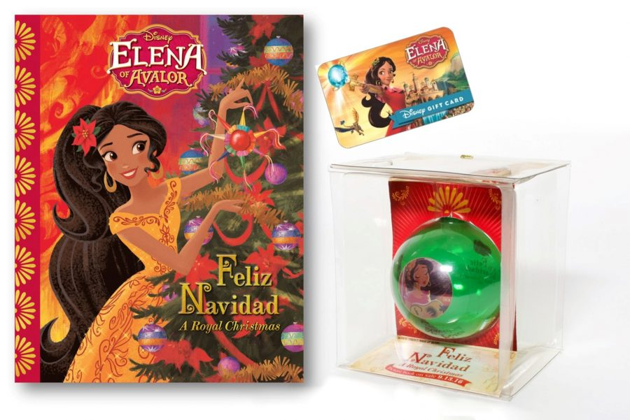 Elena of Avalor Feliz Navidad: A Royal Christmas Giveaway