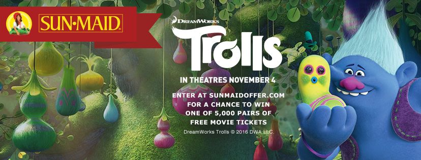 Trolls and Sun-Maid