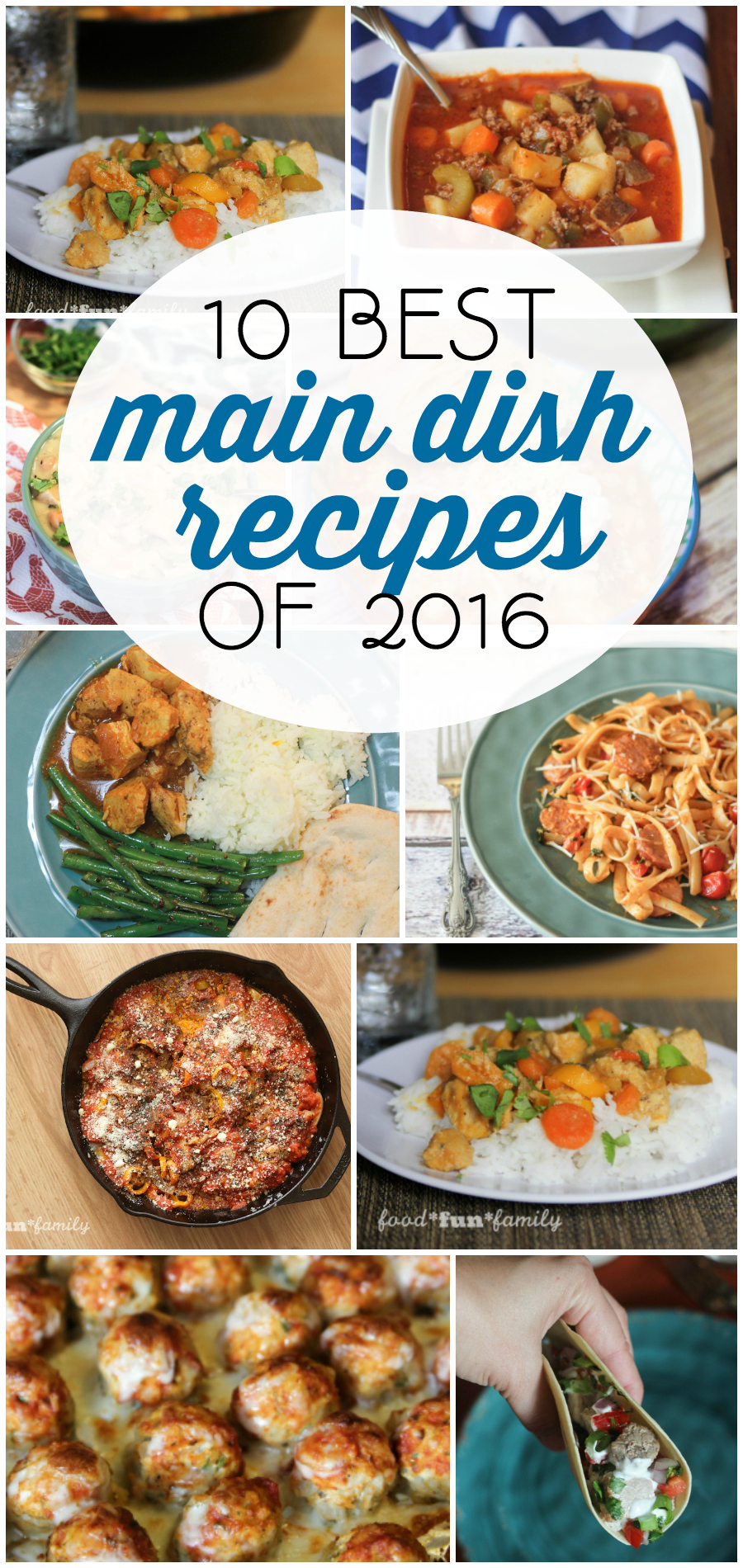 10 Best Main Dish recipes of 2016 from Food Fun Family
