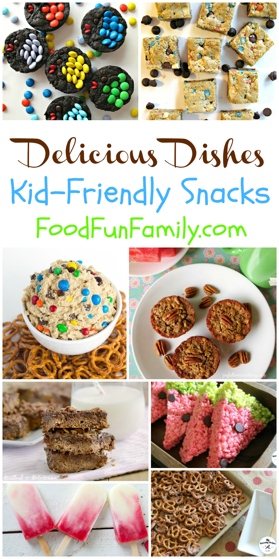 Kid-friendly snacks (even moms and dads will love these treats!) - a Delicious Dishes recipe party