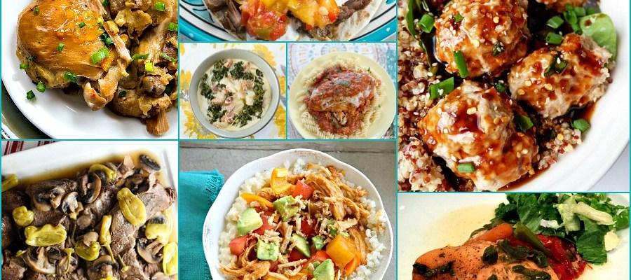 Instant Pot and Crock Pot Recipes – Delicious Dishes Recipe Party #83