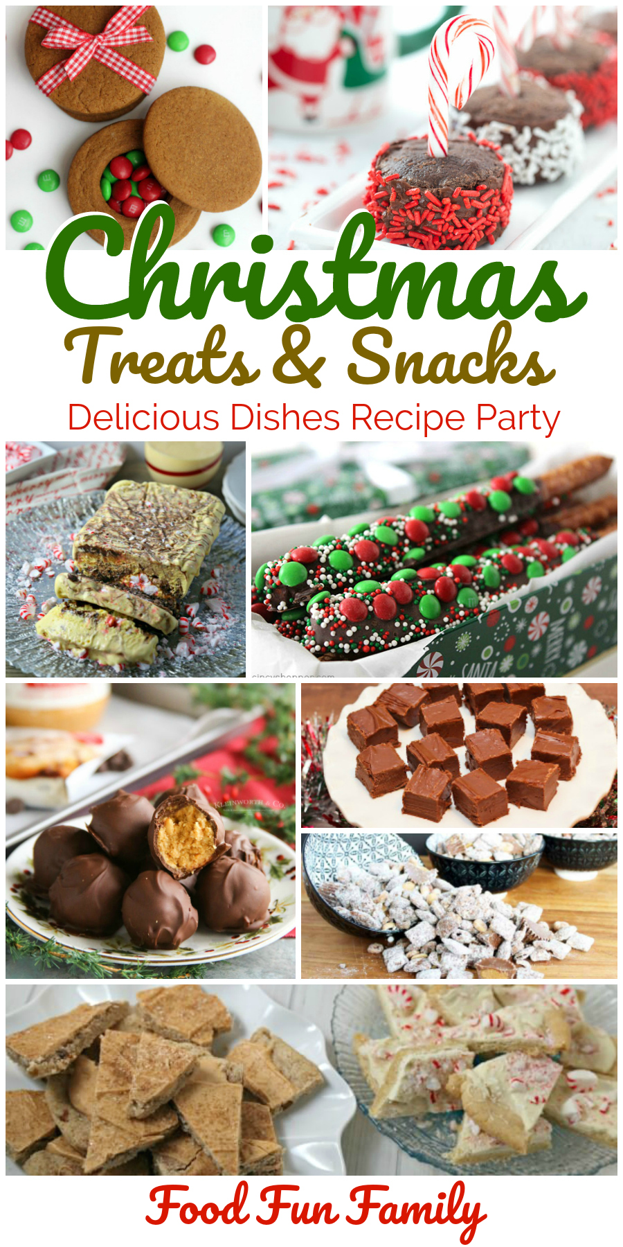 Christmas treats and snacks - a Delicious Dishes Recipe Party collection!