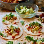 Vegetarian Chicken Street Tacos