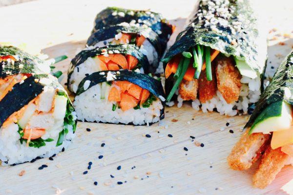 Mexican Vegan Sushi Rolls!