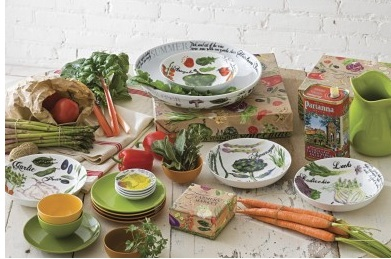 Farmers Market Tableware Collection by Rosanna Inc