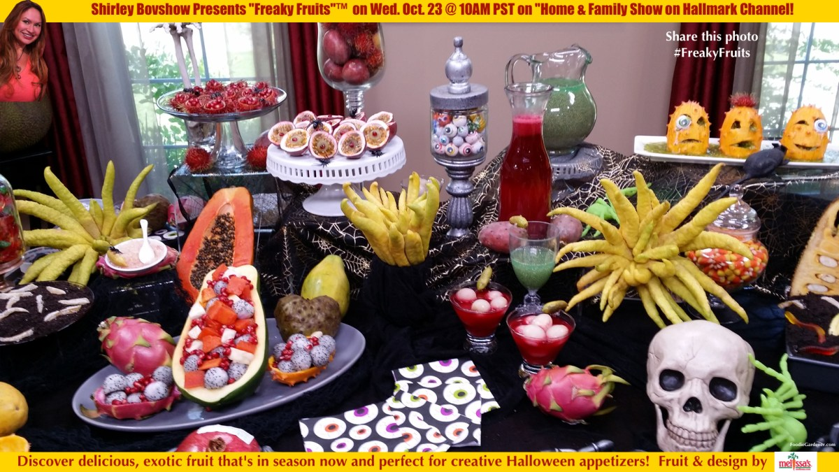 "Exotic ""Freaky Fruits""™ Make Delicious Halloween Appetizers!"