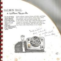Salmon Mousse Spread and Recipe Notes From the Past