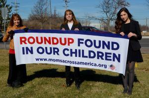 roundup found in our children