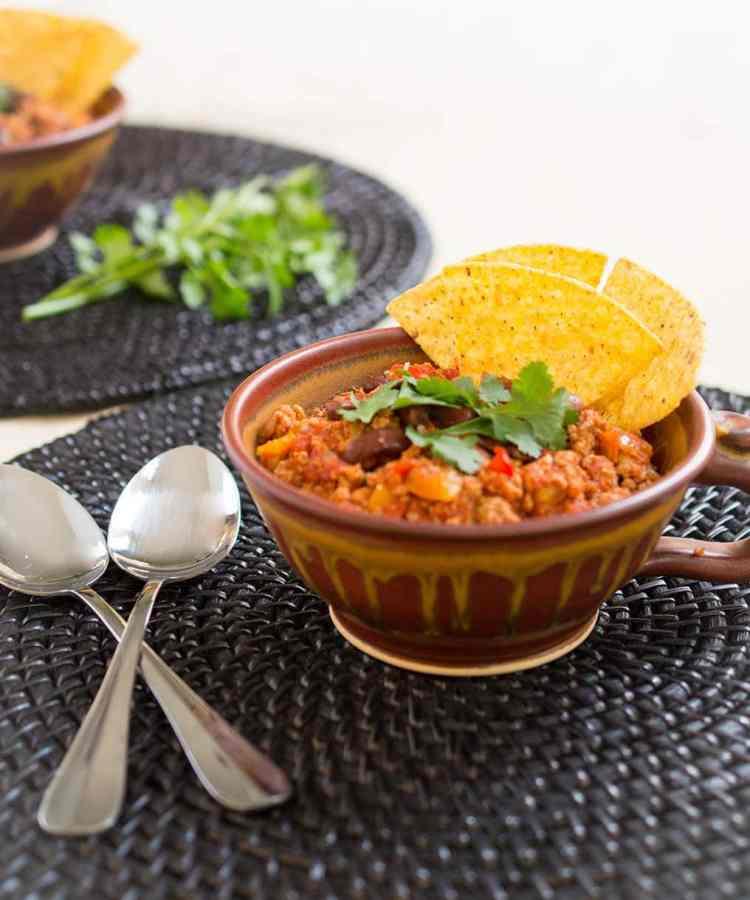 Smoky Chipotle Turkey Chili | FoodLove.com