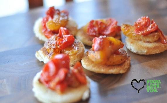 Cherry Tomato & Clementine Crostini- foodlovetog.com