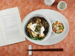 A Heart-Warming Bowl of Sukiyaki Donburi  and a giveaway to benefit Japan&#8217;s tsunami victims (they still need help!)