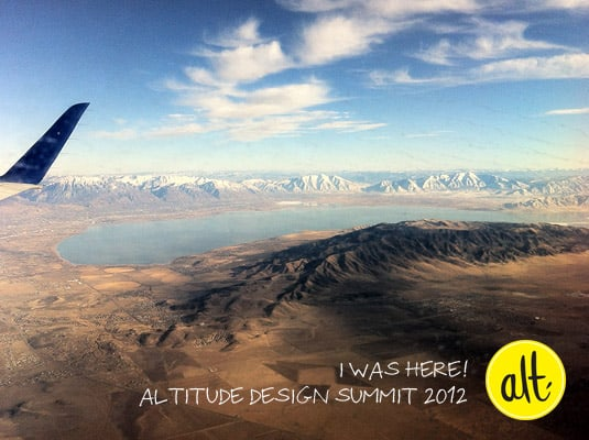 Altitude Design Summit 2012, Salt Lake City.