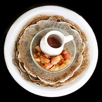 Buckwheat Apple Crepes, by Cheryl Sternman Rule of 5 Second Rule