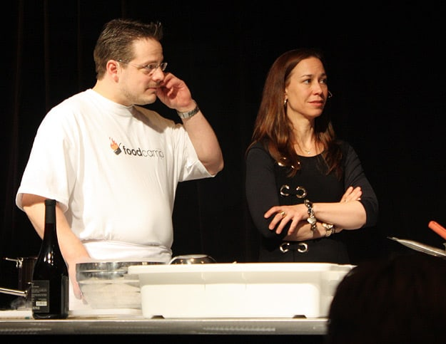 La Tanire's Chef Frdric Laplante and his partner-owner, Karen Therrien.
