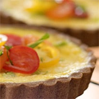 101 Cookbooks' Corn Quiche Recipe in a Tef Crust