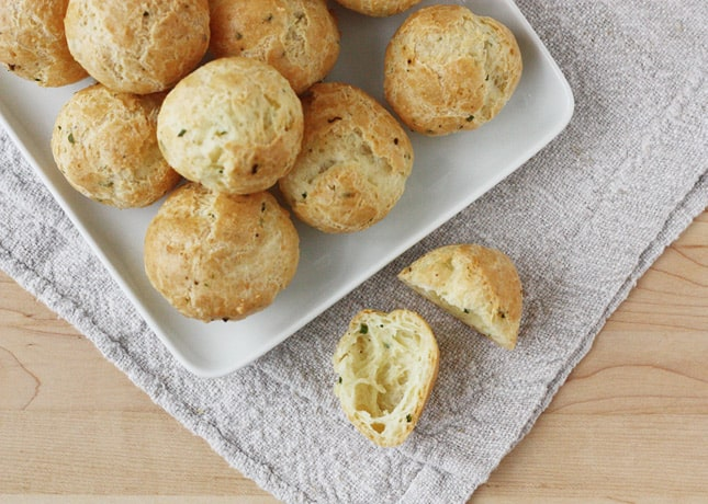 How to Make Gougères, a Step-By-Step Recipe (With Flavor Variations)