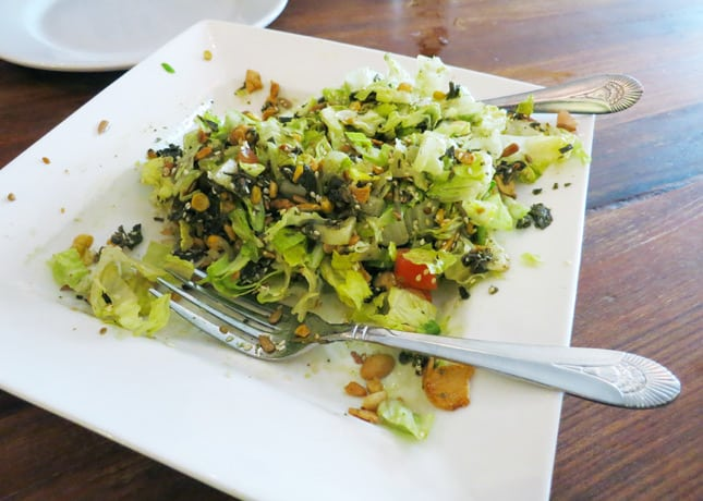 Tea Leaf Salad at Burma Superstar in San Francisco // FoodNouveau.com