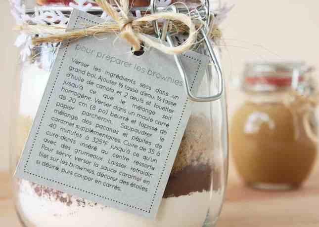 The Perfect Holiday Gift: Brownies in a Jar // FoodNouveau.com