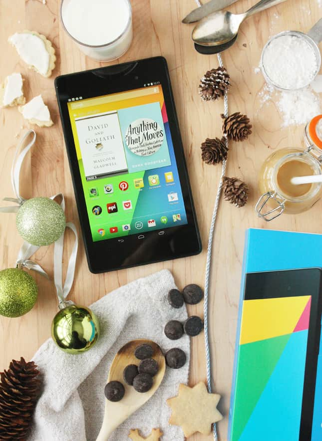 Your New Best Friend in the Kitchen: Win a Nexus 7 Tablet // FoodNouveau.com