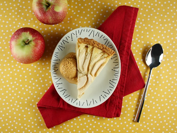 Apple and Almond Tart // FoodNouveau.com