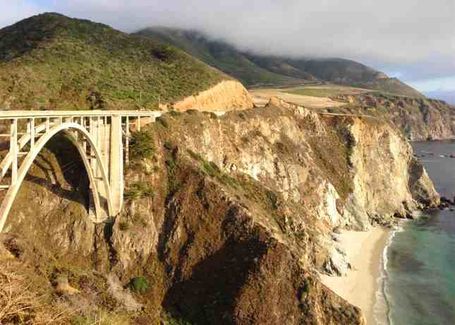 Bixby Bridge, an 80-year-old architectural feat in Big Sur, California // FoodNouveau.com