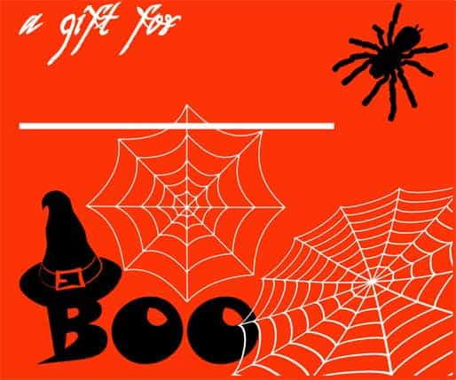 5 Free Cute Halloween Gift Tags!