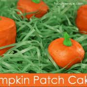 Pumpkin Patch Cakes Recipe is a perfect treat for Halloween!