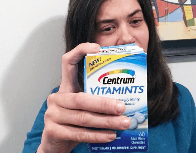 Angela Loves her Centrum® VitaMints® #CentrumVitaMints #ad