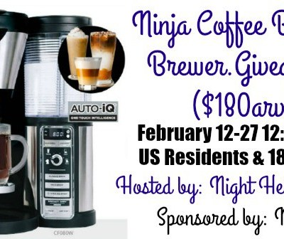 A Very Valentine's Ninja Coffee Bar Giveaway!