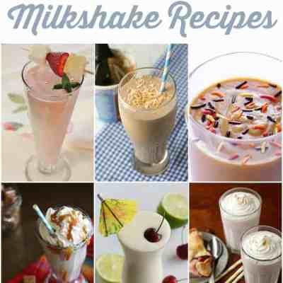 25 Milkshake Recipes