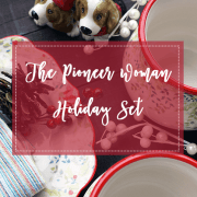 The Pioneer Woman Holiday Dinnerware Set Is Beautiful