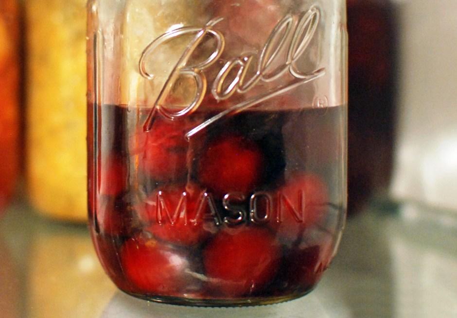 Croatian Food - Maraschino Cherries