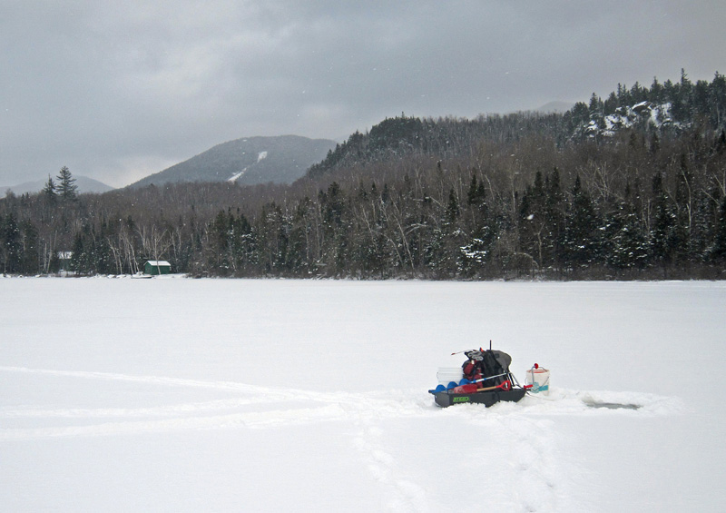Adirondacks - Ice Fishing