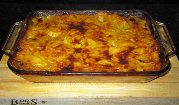 Moldovan Cuisine - Turkey, Butternut Squash and Prune Gratin