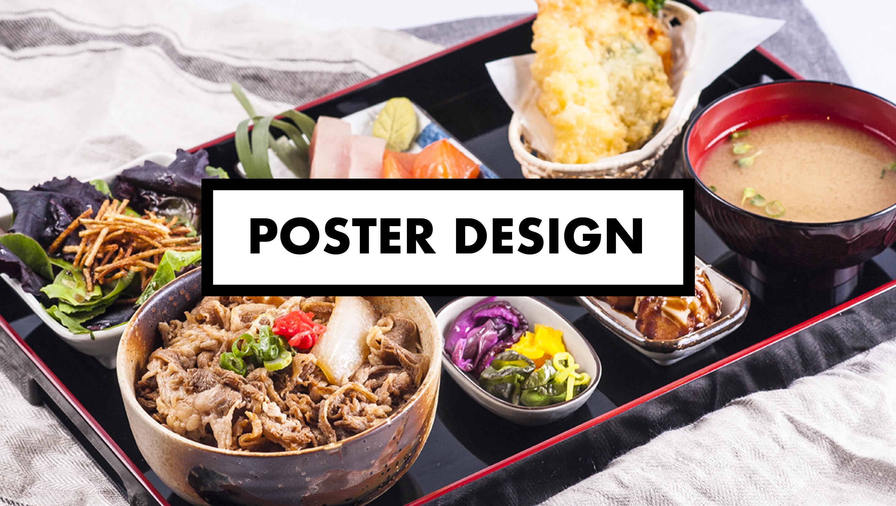 Poster design vancouver - Teishoku Poster Design For A Japanese Restaurant In Vancouver Food Photography Vancouver Commercial Photographer Videographer Stylists