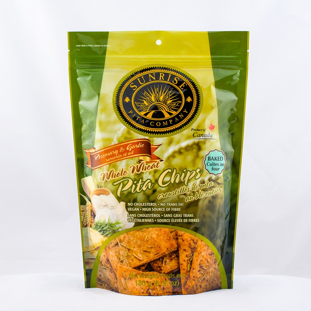 Pita Chips Healthy Package Design