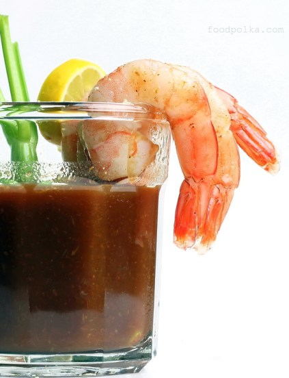 bloody mary shrimp cocktail