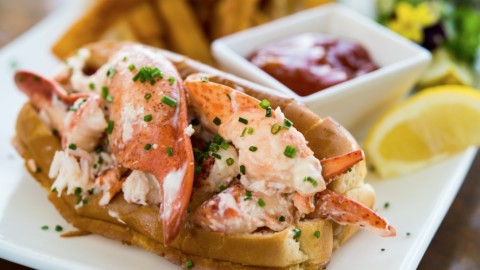 MC Perkins Cove Lobster Roll Recipe