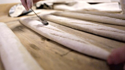 Video: The Art Of Baguette Baking At Lafayette In New York City