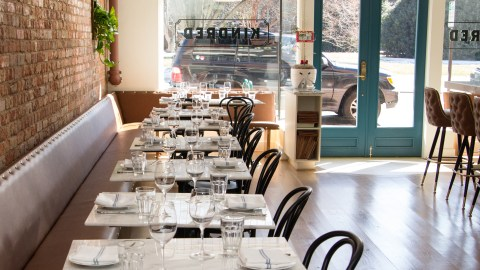 Kindred, in Davidson, North Carolina, is one of the country's best new restaurants, according to Bon Appétit.