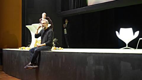Massimo onstage